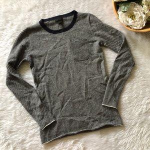 J.Crew Cashmere Striped Sweater